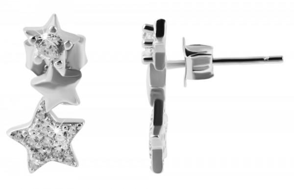 925 Silber Ohrringe, 925/rhodiniert, 1,35g