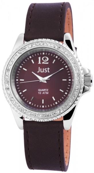 Just JU3859 Analog Damenuhr mit Echtlederband - UVP 59,90 €