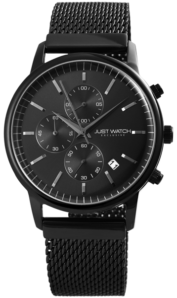 JUST WATCH EXCLUSIVE JWE007 Chronograph Herrenuhr mit Edelstahlband - UVP 89,95€