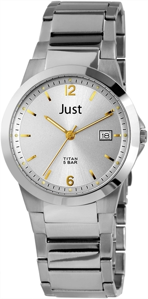 Just JU174 Analog Herrenuhr mit Titanband - UVP 69,95 €
