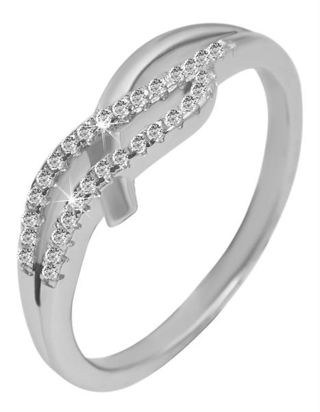 925 Silber Ring, 925/rhodiniert, 2,92g