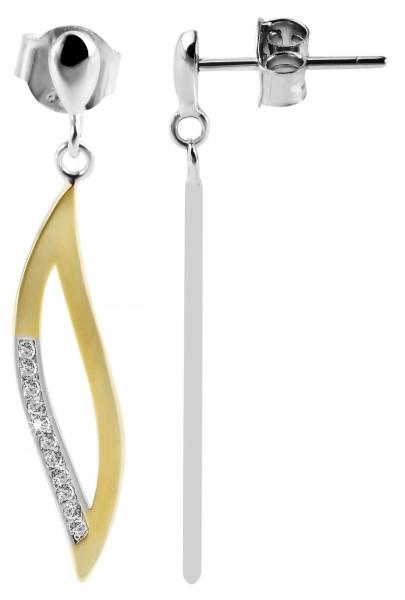 925 Silber Ohrringe, 925/rhodiniert, 2,1g