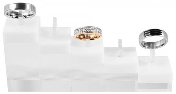 Display für Ringe, Maße: 6 x 3 x 3