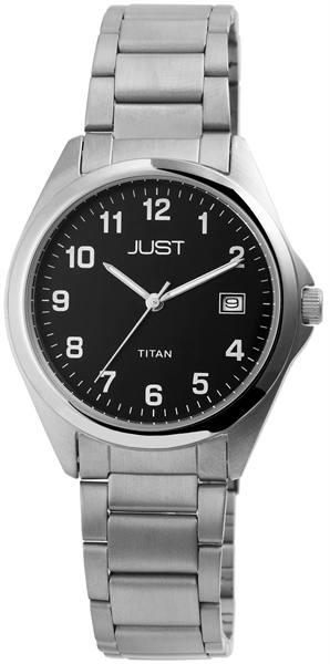 Just JU237 Analog Herrenuhr mit Titanband - UVP 59,95 €