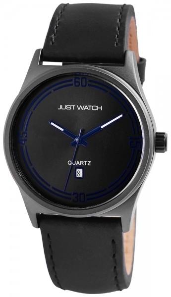 Just Watch JW064 Analog Herrenuhr mit Echtlederband - UVP 49,95 €