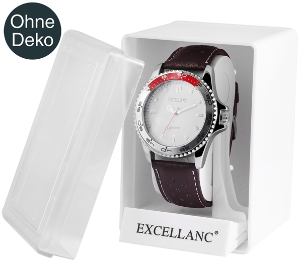 Excellanc Uhrenbox, Maße: 11 x 7,5 x 8 cm