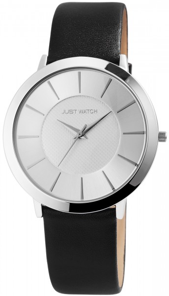 Just Watch Analog Unisexuhr mit Echtlederband - UVP 39,95€