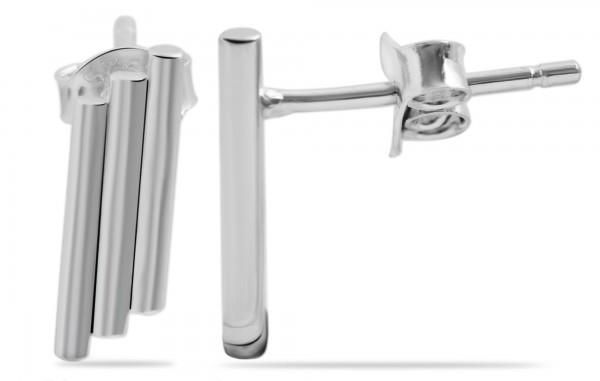 925 Silber Ohrring, 925/rhodiniert, 1,3g