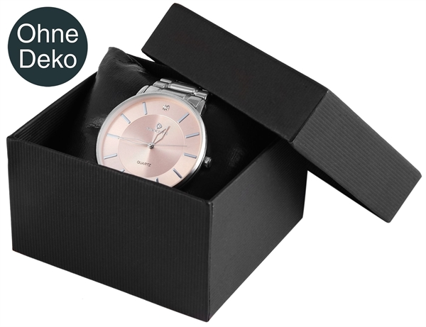 Uhrenbox, VE12, Maße: 8 x 8,5 x 5 cm