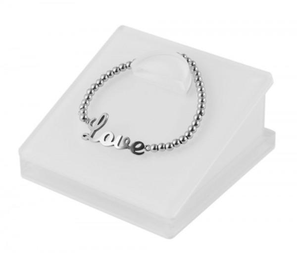 Display Armbänder, transparent, Maße: 8,5 x 8,5 x 4 cm