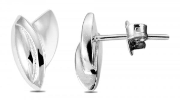 925 Silber Ohrstecker, 925/, 2,3 gr., rhodiniert