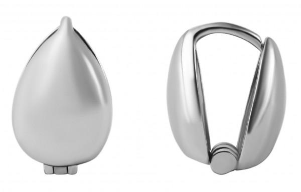 925 Silber Ohrringe, 925/rhodiniert, 1,4g