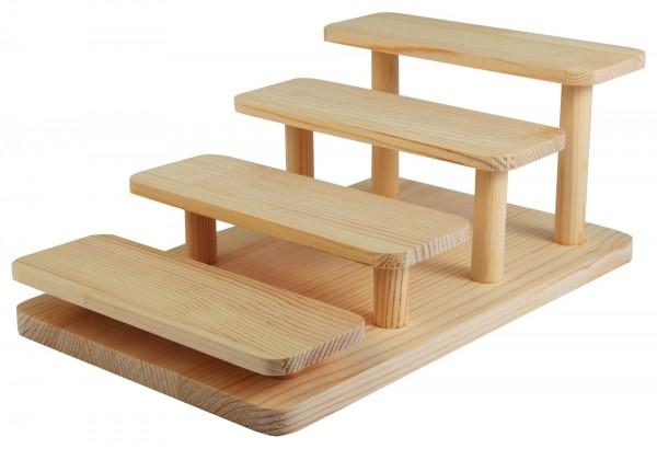 Holzdisplay, Maße: 26,5 x 16,5 x 10,5 cm