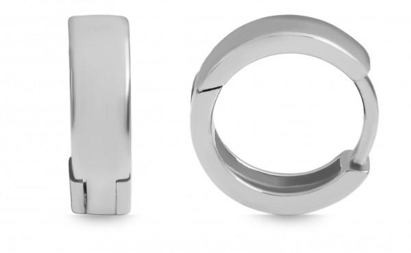 925 Silber Ohrring, 925/rhodiniert, 2,4g
