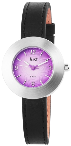 Just JU066 Analog Damenuhr mit Echtlederband - UVP 39,95 €