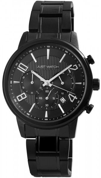 JUST WATCH EXCLUSIVE JWE005 Chronograph Herrenuhr mit Edelstahlband - UVP 89,95€