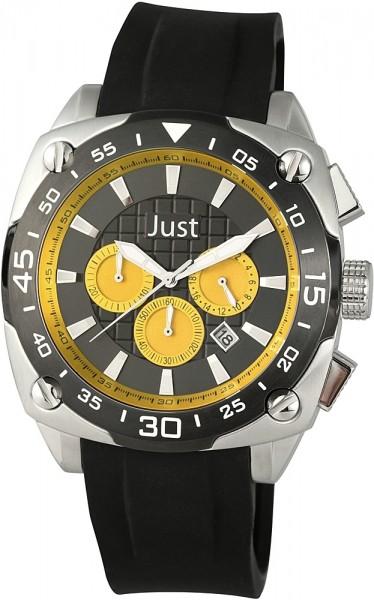 Just JU234 Chronograph Herrenuhr mit Silikonband - UVP 179,00 €