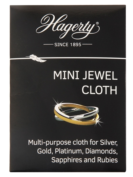 Hagerty Mini Jewel Cloth, Schmuckpflegetuch, 9 x 12 cm