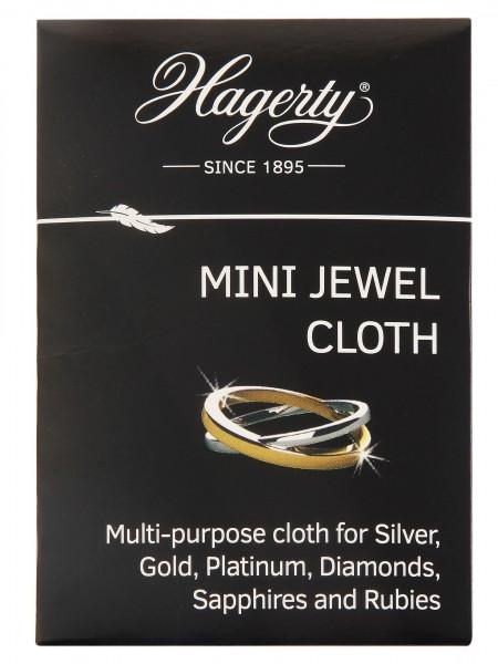 Hagerty Mini Jewel Cloth, Schmuckpflegetuch, 9 x 12 cm