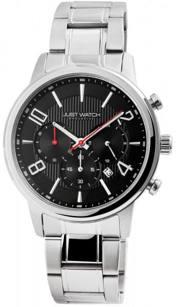 JUST WATCH EXCLUSIVE JWE005 Chronograph Herrenuhr mit Edelstahlband - UVP 89,95€