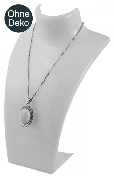 Kunststoffbüste, Maße: 20,5 cm x 13,5 cm x 12 cm