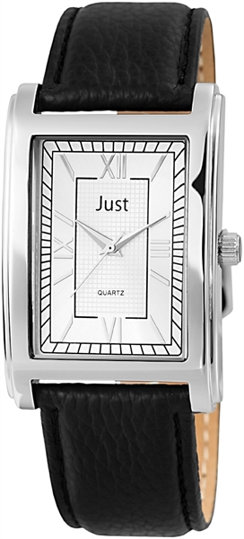 Just JU198 Analog Herrenuhr mit Echtlederband - UVP 29,95€