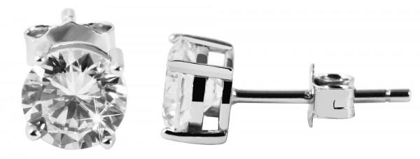 925 Silber Ohrringe, 925/rhodiniert, 1,44g
