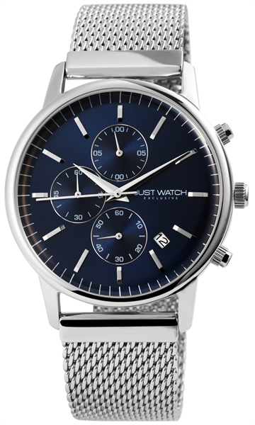 JUST WATCH EXCLUSIVE JWE007 Chronograph Herrenuhr mit Edelstahlband - UVP 89,95€