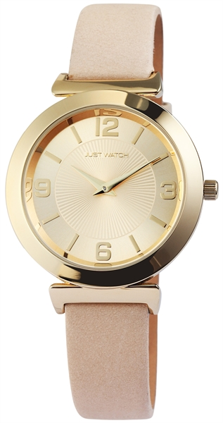 Just Watch JW111 Analog Damenuhr mit Echtlederband - UVP 49,95 €