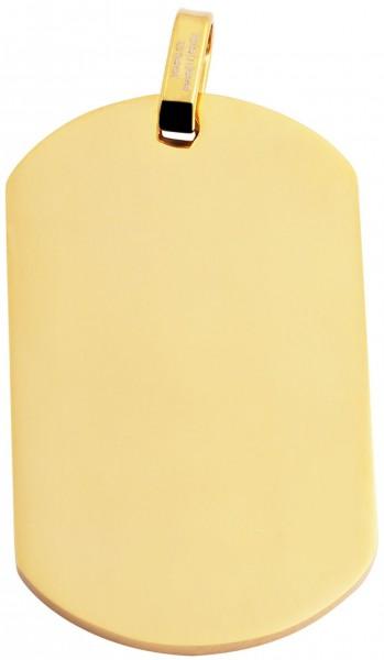 Akzent Edelstahlanhänger in , Breite: 29 mm / Höhe: 49 mm
