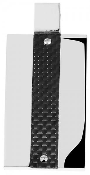 Akzent Edelstahlanhänger in , Breite: 21 mm / Höhe: 36 mm
