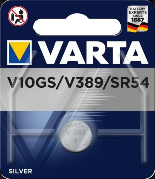 Varta Batterie V10GS Lithium Knopfzellen 1,55 Volt - Verpackungseinheit 1 Stück