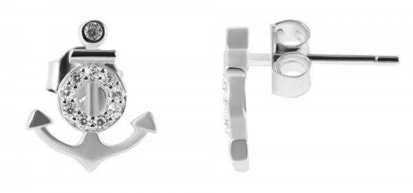 925 Silber Ohrringe. 925/rhodiniert, 1,1g