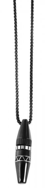 Akzent Edelstahl Erbskette, Länge: 60 cm / Stärke: 2 mm
