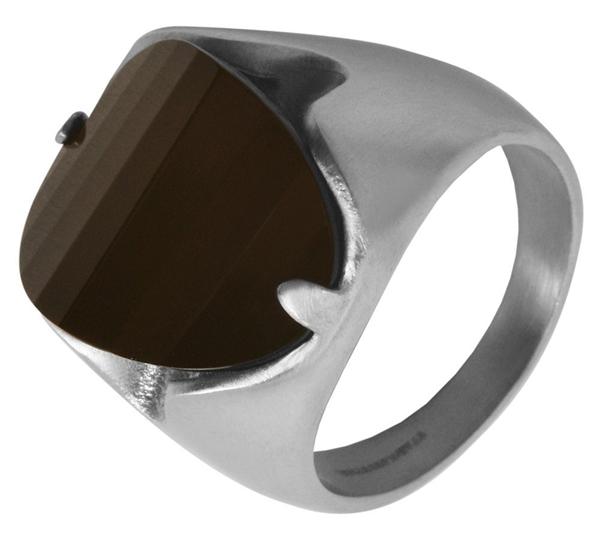 Damen-Ring aus Edelstahl