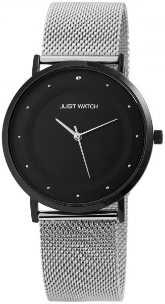 Just Watch JW154 Analog Herrenuhr mit Edelstahlband - UVP 49,95€
