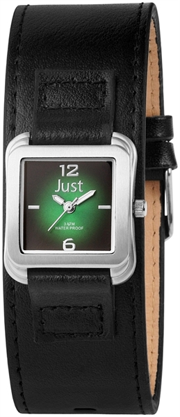 Just JU129 Analog Damenuhr mit Echtlederband - UVP 29,95 €