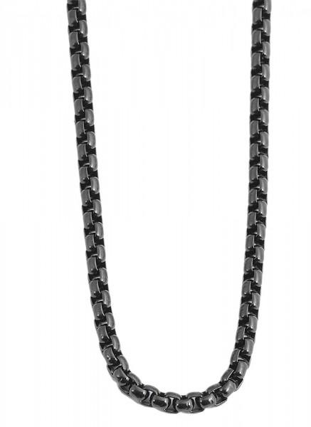 Akzent Edelstahl Unisex Erbskette, Länge: 50 cm / Stärke: 3 mm