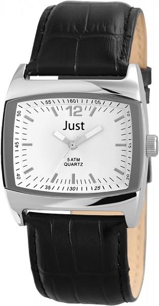 Just JU143 Analog Herrenuhr mit Echtlederband - UVP 39,95 €