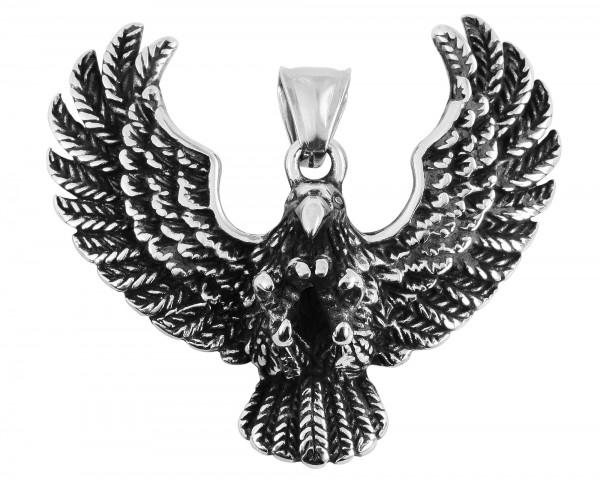 """Edelstahlanhänger """"Adler"""""""