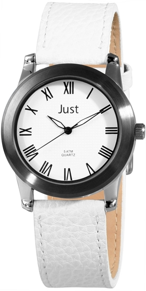 Just JU147 Analog Herrenuhr mit Echtlederband - UVP 39,95 €