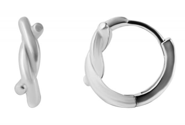 925 Silber Ohrringe, 925/rhodiniert, 1,56g