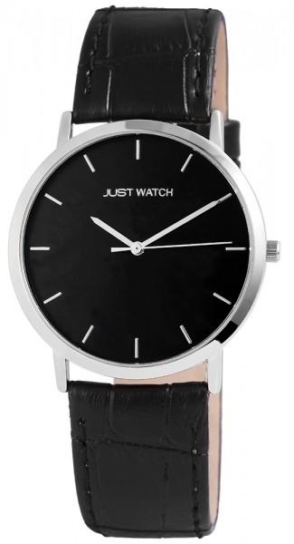 Just Watch JW095 Analog Herrenuhr mit Echtlederband - UVP 39,95 €