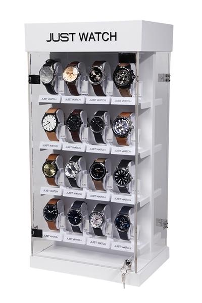 JUST WATCH Display für 32 Uhren, drehbar