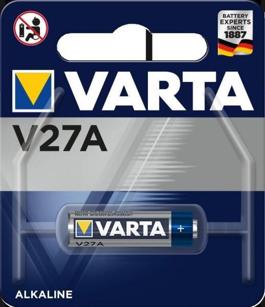 Varta Batterie V27A Alkali-Mangan Photo 12 Volt - Verpackungseinheit 1 Stück
