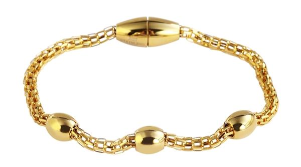 Just Schmuckarmband aus Edelstahl mit IP Gold-Beschichtung l UVP 24,95 €