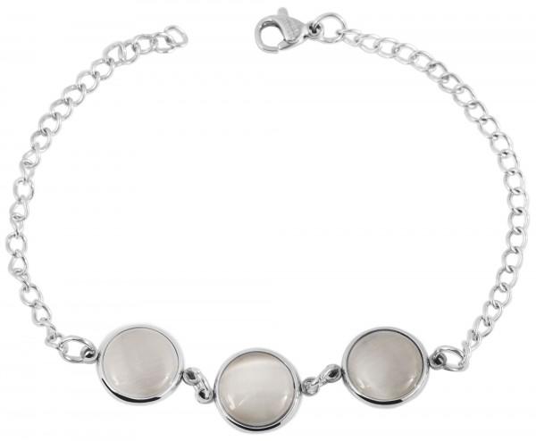 Akzent Edelstahl Armband, 20cm