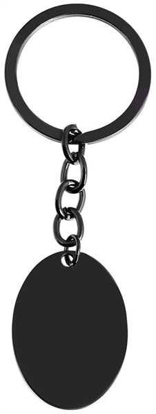 Edelstahl Schlüsselanhänger, 25x35 mm