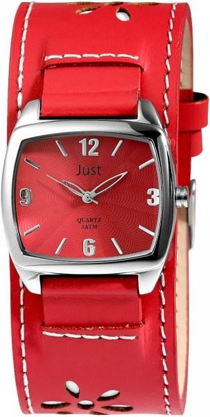 Just JU020 Analog Damenuhr mit Echtlederband - UVP 39,95 €