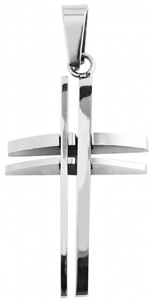Akzent Edelstahlanhänger in , Breite: 20 mm / Höhe: 36 mm